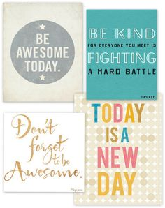Quotes on being awesome are extra awesome.