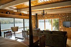 rustic, romantic - Small Hotel - Sakinaw Lake Lodge, British Columbia, Canada