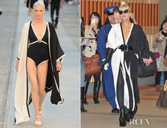 Lady Gaga In Chanel - Narita International Airport