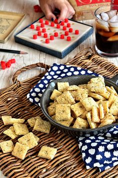 Homemade Ranch and Cheese Crackers Recipe