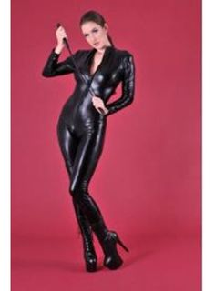 possible suit for black cat costume