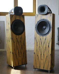 Blumenhofer Genuin FS3 Mk II Horn Speakers.