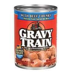 Gravy Train Dog Food with Chicken Chunks in Gravy, 13.2-oz. Cans