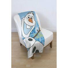 Disney Frozen Olaf Fleece Blanket Brand New Official Licensed Item