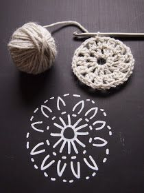 omⒶ KOPPA: UUSI kukkaNELIÖvariaatio Free Mandala Crochet Patterns, Crochet Stitches Patterns, Crochet Art, Thread Crochet, Crochet Gifts, Crochet Motif, Crochet Designs, Cable Knit Hat, Crochet Handbags