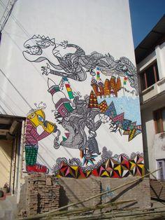 Street Art By Sadhux - Kathmandu (Nepal)