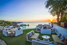 Perched 50 meters above sea level on the cliffs of Uluwatu - Bali, El Kabron Spanish Restaurant & Cliff Club has the most Secluded Sunset on the Island