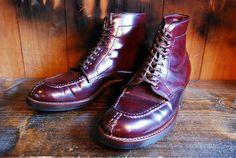 ALDEN TANKER Boots Biltrite Half sole   BRASS BLOG