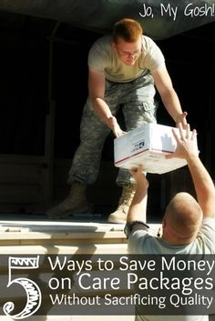 Use these tips to save on care packages so you can send more! Soldier Care Packages, Deployment Care Packages, Navy Life, Navy Mom, Military Deployment, Military Spouse, Support Our Troops, Ways To Save Money, Saving Money