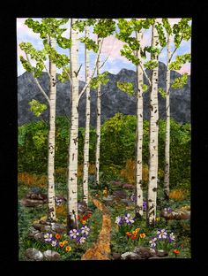 Colorado quilt artist Joanne Cranfield!
