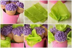 Cupcake bouquet, pretty =)