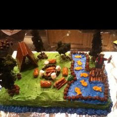 Boy Scout Cake Bake - for blue and gold banquet