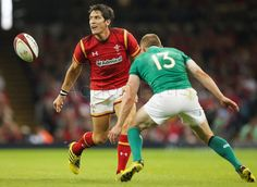 James Hook in action against Ireland.