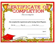Cute Christian Award Certificate Templates Printable Certificates