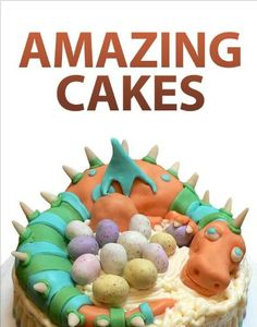 Amazing Cakes - Amazing Cakes gives you full step-by-step instructions for 27 inspiring cake designs. Learn how to make 3-D cakes, animated Halloween cakes, and even a working volcano! All projects are written by home cake-decorating experts, and con