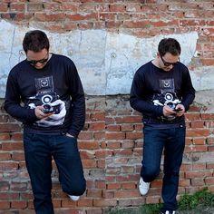 Photo sweater