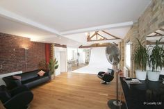 Location 658 - Photography studio, Brick, Brick walls as a feature, Photography studio , Wooden floor