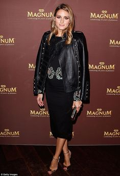 Olivia Palermo at the 25th Magnum Event in exclusive Rachel Gilbert