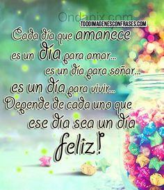 #Frases #Feliz ♥