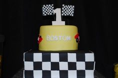 Gwynn Wasson Designs: {Client Parties} Boston's Race Car Birthday Party
