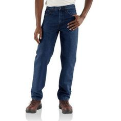 Carhartt Flame Resistant Jean Relaxed Fit Denim | FR Clothing we offer 120% Price Match Protection, Best Price Guaranteed!