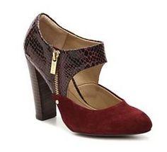Oxblood Gatsby heel from DSW.