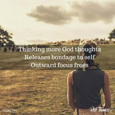 The gospel teaches loving God and others more will provide other-worldly freedom. Only the gospel can free you from yourself. Haiku, Believe, Self, Teaching, God, Thoughts, Dios, Haikou, Education