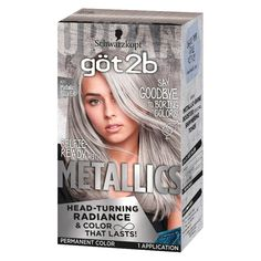 Suggestions with regard to awesome looking women's hair. Your hair is certainly just what can define you as a man or woman. To numerous individuals it is definitely vital to have a decent hair do. Hair and beauty. Silver Hair Dye, Grey Hair Dye, Ombre Hair, Dyed Hair, Blonde Hair, Short Silver Hair, Pelo Color Plata, Metallic Hair Color, Gray Hair Highlights