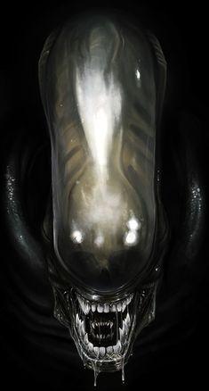 ALIENS: ALIEN WARRIOR - by `DanLuVisiArt on deviantART