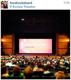 Movie screening at Sundance.