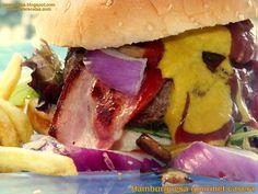 hamburguesa gourmet casera