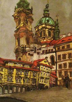 Praga, iglesia de San Nicolás.