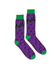 Joker Crew Socks - DC Comics - Spirithalloween.com