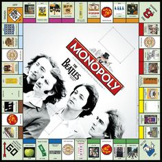 Find images and videos about rock, the beatles and john lennon on We Heart It - the app to get lost in what you love. Beatles Poster, Beatles Art, The Beatles, Beatles Photos, We Heart It, Printable Board Games, Monopoly Board, Monopoly Game, Unusual Facts