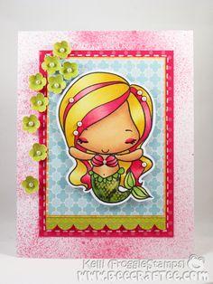Cute Mermaid card