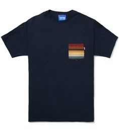 Tantum Serape Burgundy Pocket Tee. shop.visualjunkie.no