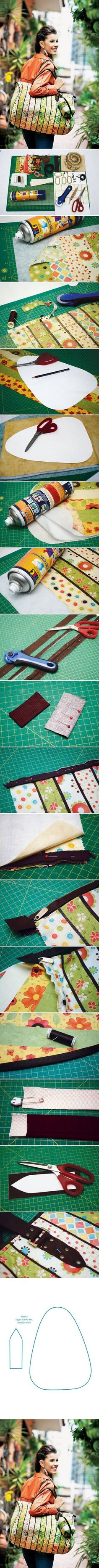 DIY Sew Travel Bag