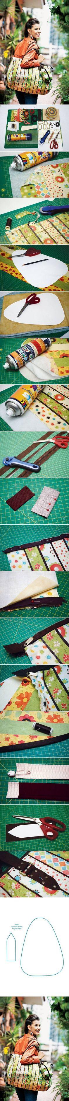 DIY Sew Travel Bag