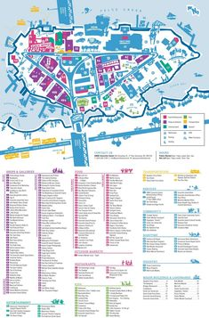 Granville Island Map Vancouver BC Pinterest Canadian travel