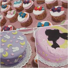 First time seeing a Sailor Moon cake with the pattern of Usagi's bed sheet . First time seeing a Sailor Moon cake with the pattern of Usagi's bed sheet Sailor Moon Birthday, Sailor Moon Party, Sailor Moon Wedding, Cupcakes, Cupcake Cakes, Beautiful Cakes, Amazing Cakes, Sailor Moon Cakes, Low Carb Flammkuchen