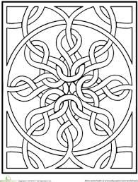 Image result for advanced coloring pages for adults celtic