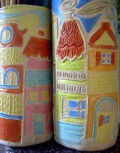 Cassie Stephens: DIY: Embossed Ceramicness