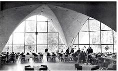 Restaurant at Xochimilco, DF, 1958    Architect: Joaquin Alvarez Ordonez Builder: Felix Candela