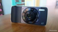 """Hasselblad's camera module adds 10x optical zoom to Moto Z phones -> http://mashable.com/2016/08/31/hasselblad-true-zoom-moto-z-mod-review/   """"Its not the camera but the person behind the camera that makes great pictures.""""   Every seasoned photographer will bestow these words of wisdom on the less financially equipped. But in the case of smartphone cameras superior hardware really makes a world a difference if you want great photos.   Just when I thought Motorolas Moto Mod attachments for…"""