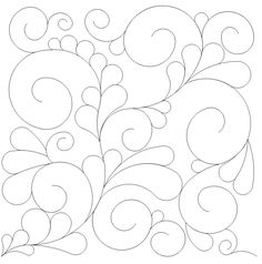 Feather and Swirls Panto - 1315 -$.02