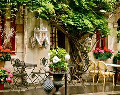 Paris Photography Cafe Art Parisian Decor 8x10 by VitaNostra