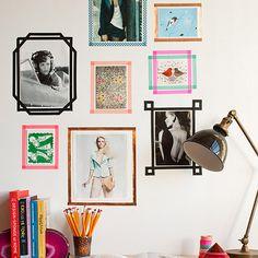 DIY Tape Picture Frames – Design*Sponge