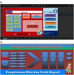Aplikasi Raport Kurikulum 2013 SD Dilengkapi dengan Format Cetak Penilaian dan…