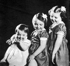 Dutch Princesses Margriet, Irene, and Beatrix.