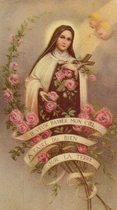 Saint Therese, The Little Flower.